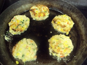 Cooking Crab Cakes