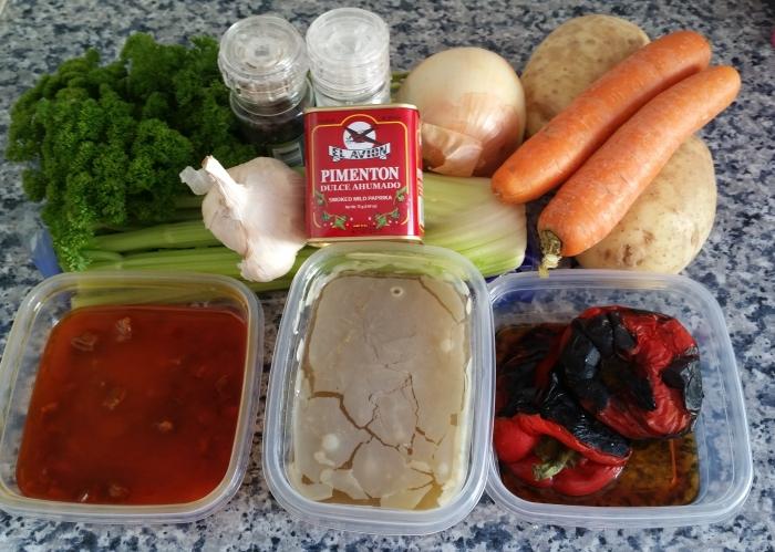Spanish Soup Ingredients