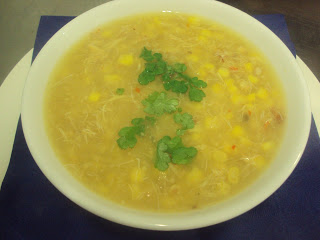 Chinese Crab and Sweetcorn Soup