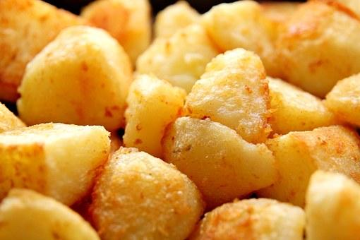 Crispy oven roast Potatoes