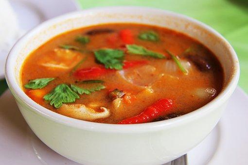 Seafood Tom yum