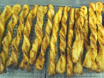 Homemade Puff Pastry Cheese Straws